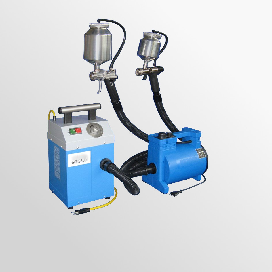 Paint spraying devices